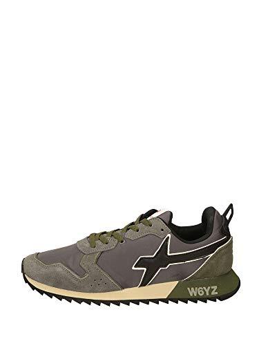 sneakers uomo wizz WIZZ Scarpe Uomo Sneakers Basse 0012014033.01.1B14 Jet-M Taglia 42 Antracite-Militare