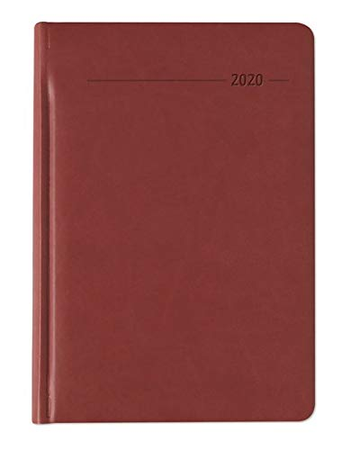 Wochenplaner Tucson rot 2020 - Bürokalender A5 - Cheftimer - 1 Woche 2 Seiten - 128 Seiten - Tucson-Einband - Terminplaner - Notizbuch