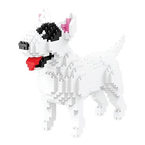 Balody Figura para armar con nanobloques. Perro Bull Terrier