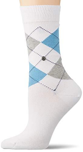 Burlington Damen Queen Socken, weiss (white 2003), 36-41