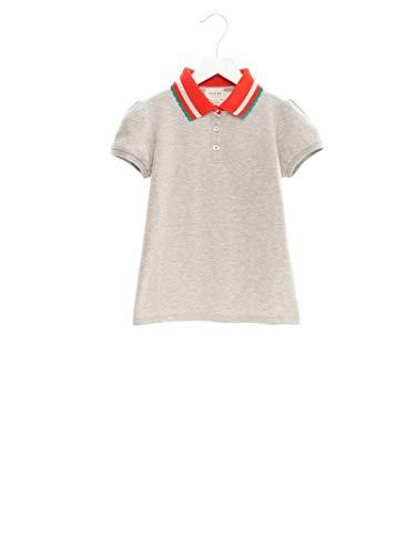 Gucci Luxury Fashion Mädchen 543997XJAM81154 Grau Elastan Poloshirt   Jahreszeit Outlet