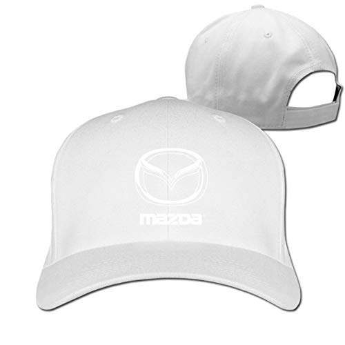 mn Design Funny Mazda Logo Adjustable Cotton Baseball Cap for Men Womens,Black Hüte, Mützen & Caps