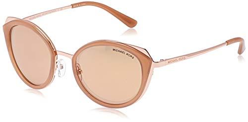Michael Kors Charleston 1026r1 52 Gafas de sol, Rose Gold/Milky Lt Brown, Mujer