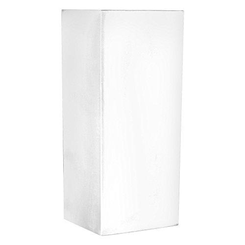 Serralunga cubotti Vaso, Bianco, 37x37x90 cm