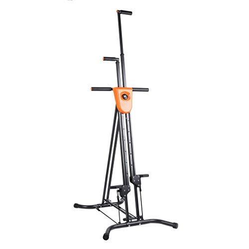 Znds Vertical Climber Falten Klettermaschine, Full Body Fitness Übung Bike für Home Body Trainer Stepper Cardio Workout Training Non-Stick Grips Beine Arms Abs Abs Calf