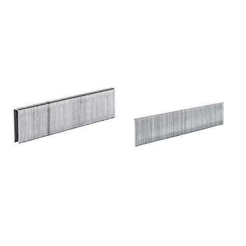 Einhell Klammern, Stk 5,7x25 mm Pack de 3000 grapas para DTA 25 (5 x 25 mm) + 4137871 Set de 3000 clavos de 25 mm para DTA 25