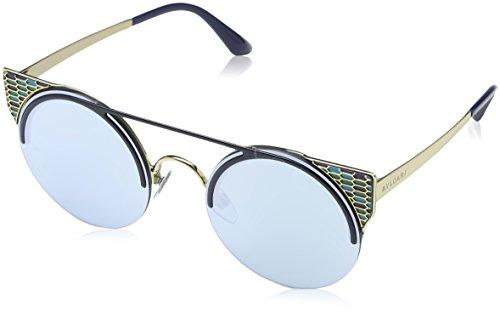 Bulgari 0Bv6088 20206J 54 Gafas de Sol, Azul (Blute/Blue White), Unisex-Adulto