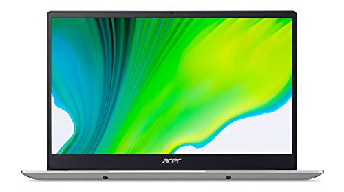Acer Swift 3 (SF314-42-R86V) 35,6 cm (14 Zoll Full-HD IPS matt) Ultrabook (AMD Ryzen 5 4500U, 8 GB RAM, 256 GB PCIe SSD, AMD Radeon Graphics, Win 10 Home) silber