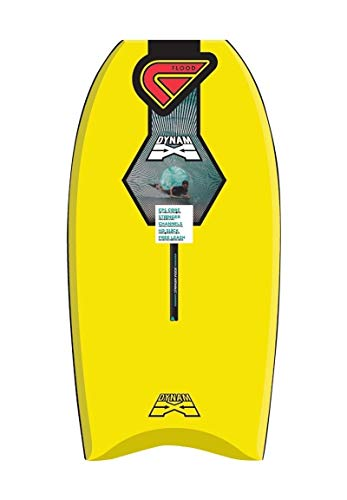 Flood Dynamx Stringer - Tabla de bodyboard (37'), color amarillo