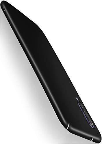 moex Alpha Hülle für Xiaomi Mi 9 Lite Hülle Stoßfest & Leicht Handyhülle Extra Dünn, Super Slim Schutzhülle Ultra Air Hybrid PC Hardcase aus Kunststoff - Matt Schwarz