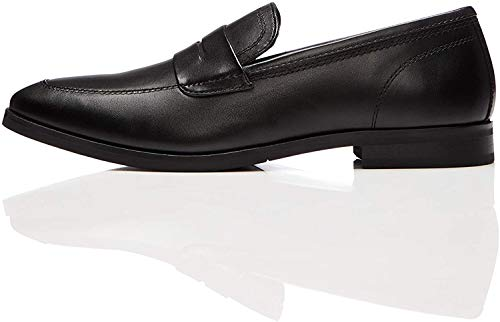 find. Darcy Penny Loafer, Schwarz (Smart Black), 43 EU