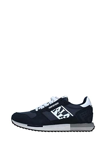 Napapijri Herren Virtus Low-Top Sneaker, Blau, 42 EU
