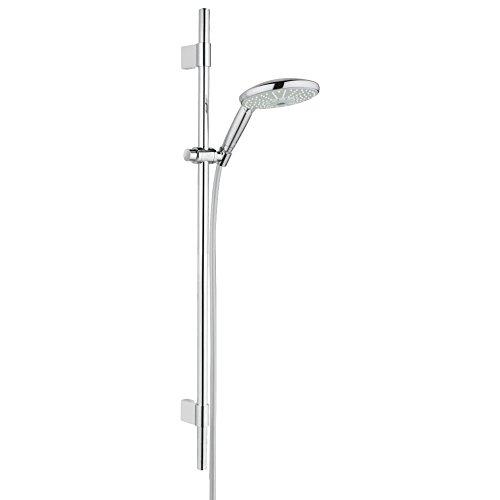 GROHE Rainshower Classic 160 Brausen und Duschsysteme (Brausestangenset 4 Strahlarten) chrom, 28770001