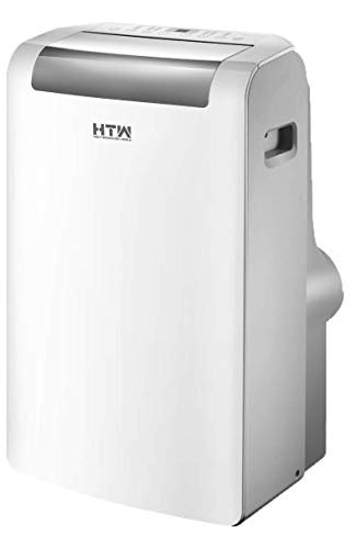 HTW PC-035P27 Aire acondicionado portátil (solo frío), para estancias de hasta 25 m2, 3.000 frig/h, 51.9 Decibelios, 3 Velocidades, 34 kg