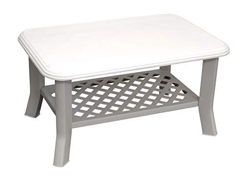 BEST 18180200 Tisch Lounge Alassio, weiß