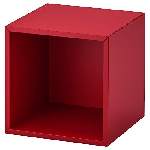 Estantería de pared EKET 35x35x35 cm rojo