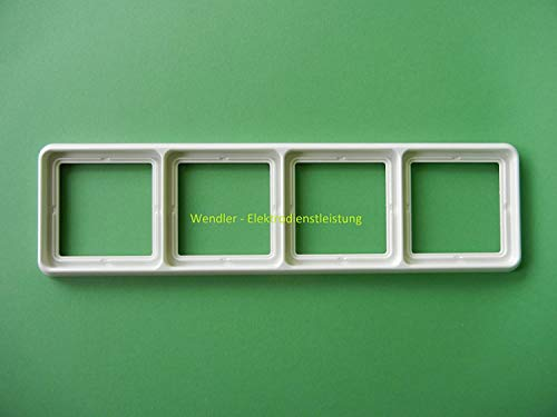 Jung Rahmen CD584WW 4fach