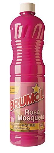 Brumol Fregasuelos Concentrado Rosa Mosqueta - Paquete de 15 x 1000 ml - Total 15000 ml