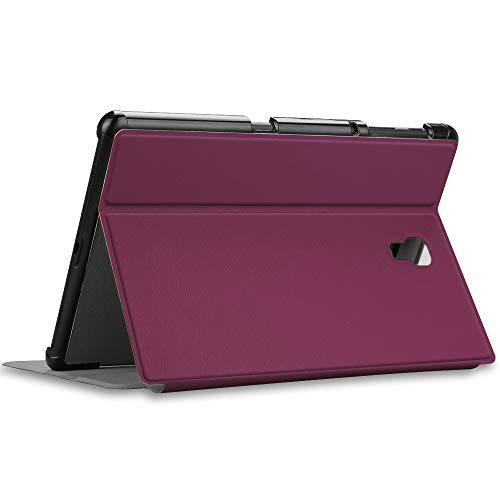 Fintie Hülle für Samsung Galaxy Tab A 10.5 SM-T590/T595 - Folio Stand Schutzhülle mit Auto Sleep/Wake, Multi-Winkel Betrachtung für Samsung Galaxy Tab A 10.5 Zoll 2018 Tablet PC, Lila