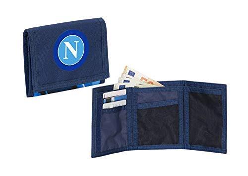 SSC Napoli Forza Napoli Kreditkartenhülle 9 Centimeters Blau (Blue Deep)