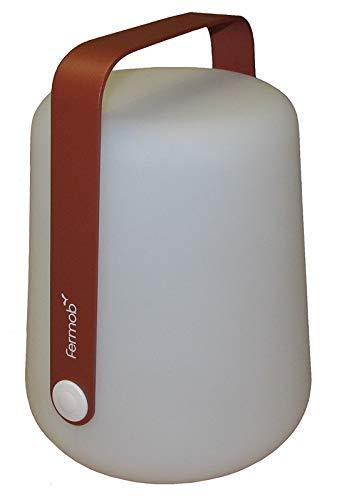 Fermob Balad mobile LED-Leuchte mit Akku (Ockerrot, H 25 cm)