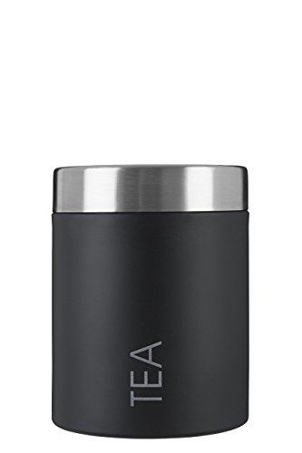 Premier Housewares Tea Behälter Schwarz/silber