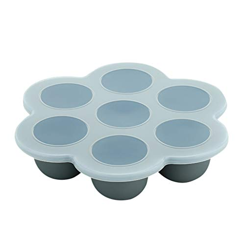 Lowest Price! 626 Ice Cube Molds Covered 7 Cavities DIY Ice Ball Maker Tray Set with Spill-Resistant...