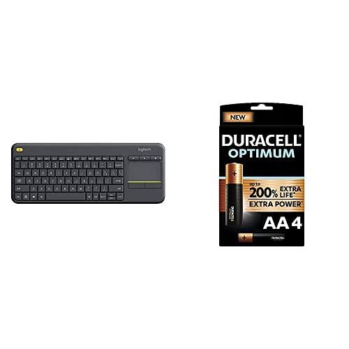 Logitech K400 Plus Kabellose TV-Tastatur...