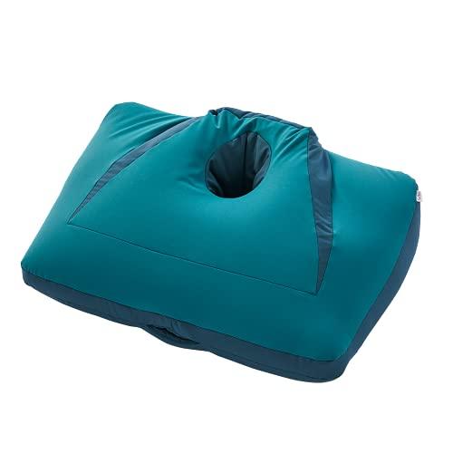 NeOchi Pillow Mini ねおちピロー ミニ ゲーム スマホ うつ伏せ 枕 ビーズクッション ゲーミング クッション クロスプラス (グリーン)