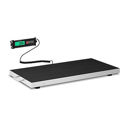 Steinberg Systems Balance Au Sol Électrique Professionnelle Industrielle Plateforme Pour Vétérinaire SBS-PS-150 (150 kg/50 g, kg / lb / oz, 95 x 50 cm, Écran LCD, Autonomie de 30 h)
