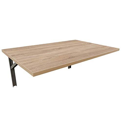 mikon 90x60 Wandtisch Wandklapptisch Küchentisch Schreibtisch Esstisch | Sonoma