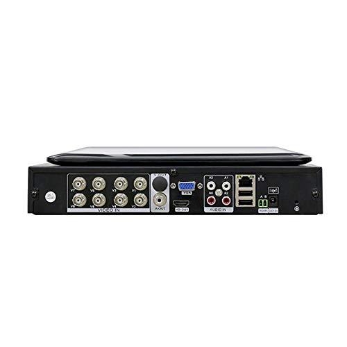CCTV 4/8 CH 5IN1 1080N Grabador de Video Digital 10.1'Pantalla LCD AHD/CVI/TVI/analógico/IP Sistema de Seguridad para el hogar P2P H.264,8CH