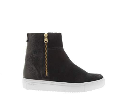 Blackstone Damen QL49 Desert Boots, Schwarz (Black), 40 EU