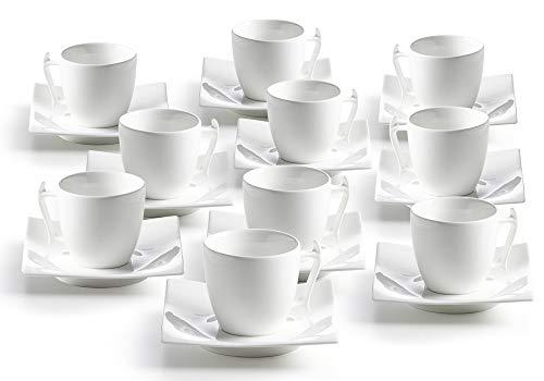 10er SET Espressotasse MOTION 100 ml/Espresso/Tasse/White Basics