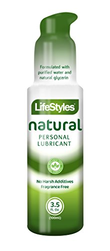 Lifestyles Natural Desire Water-Based Personal Lubricant, 3.5 Ounce
