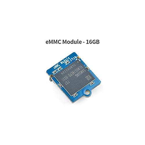 FriendlyARM NanoPi M4 2 GB DDR3, Rockchip RK3399 SoC 2.4G und 5G Dualband-WLAN, unterstützt Android und Ubuntu, AI und maschinelles Lernen 16GB eMMC Module
