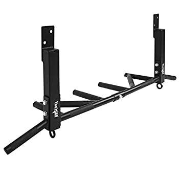 Yes4All Joist Mounted Pull Up Bar - Multi Grips Pull Up Bar/Chin Up Bar