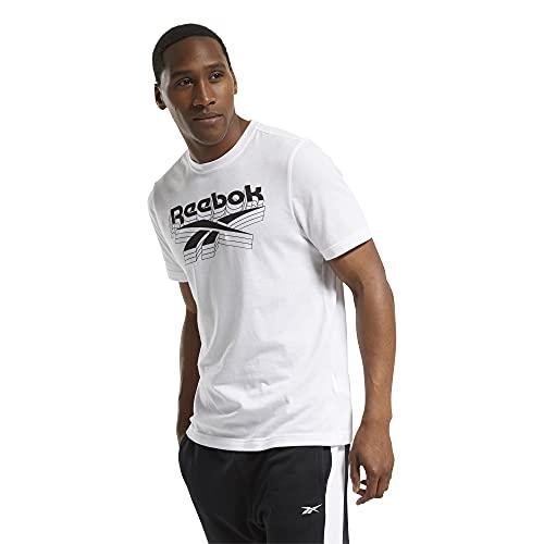 Reebok GS OPP tee Camiseta, Hombre, Blanco, S