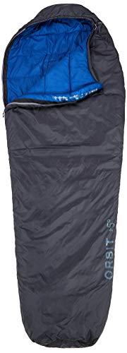 Deuter Unisex-Adult Orbit + 5° - L Schlafsack, Granite-Steel, One Size