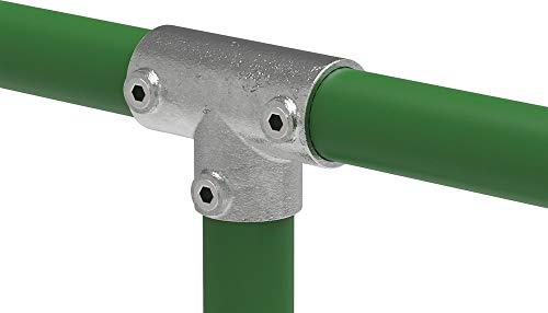 Fenau | T-Verbinder/T-Stück, Rohrverbinder, lang, 90-Grad, Ø 33,7 mm / 1