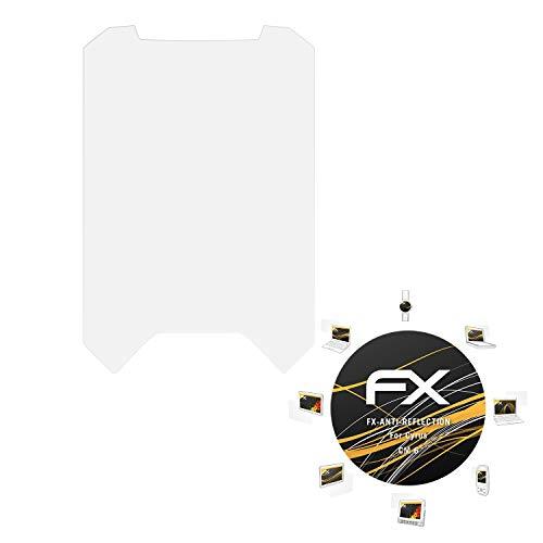 atFolix Panzerfolie kompatibel mit Cyrus cm 6 Schutzfolie, entspiegelnde & stoßdämpfende FX Folie (3X)