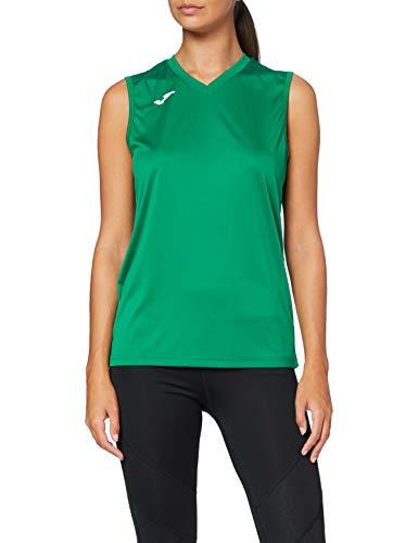 Joma, T–Shirt Combi Smanicata Green Medium, Taglia: XL