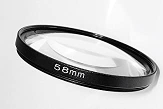 Maxsimafoto 58mm Close lens 10x magnification for all 58mm lenses and adaptors  Canon G7  G9  G10  G11  G12  G15  G16 Nikon  Panasonic  Fujifilm  Pentax  Samsung  Olympus  Leica  Sony etc
