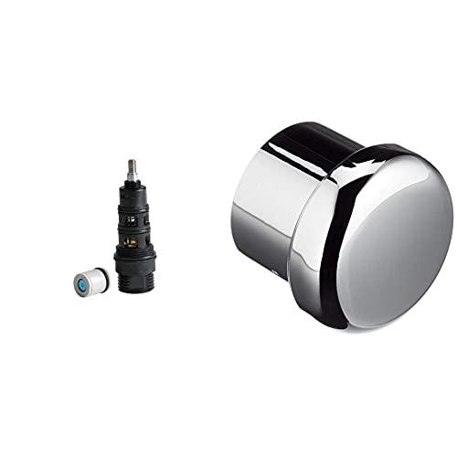 Roca Kit Inversor Aut Bñ-Dc (A525080509) Recambios originales de grifería. + A525094400 Recambio Pomo Inversor Baño