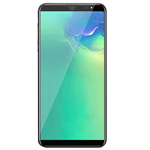 Huante - Teléfono inteligente inteligente de 5,8 pulgadas, Android Smart Phone Dual-Band con reconocimiento Facial libre con doble ranura para tarjeta SIM, enchufe de la UE