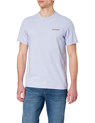 Dockers Logo Tee, Camiseta Hombre, Lilac Helado, S