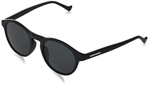 Armani EA4138F - Gafas de sol (504287-52), color gris