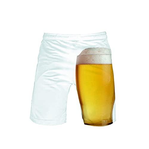 2021 Nuevo Pantalones Corto Hombre verano Oktoberfest Moda Casual Pantalones de playa 3D Impresión Suelto Talla grande Bañador Original Chándal de hombres Secado rápido Jogging Pants trend Deportivos