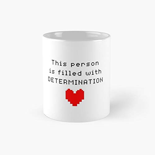 Undertale Mugs Taza clásica con el mejor regalo de café divertido de 325 ml