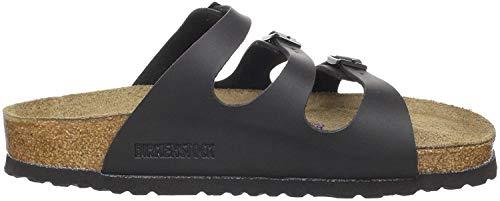 Birkenstock Florida Damen Schwarz Folien Sandalen Schuhe Neu/Display EU 37